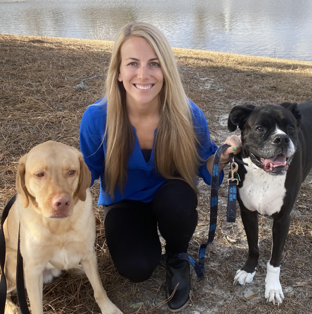 Pet chiropractic and acupuncture services with Dr. Kristina McGinnis